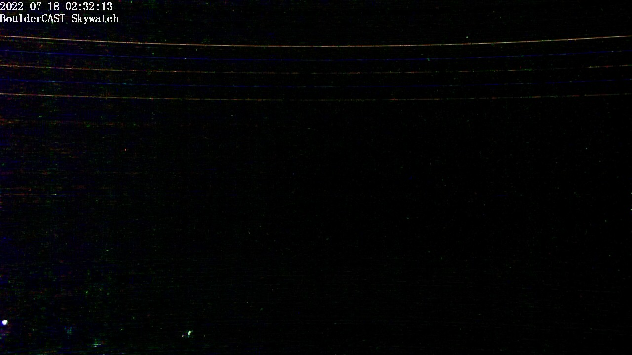 Boulder CAST Live CAM (Skywatch Observatory at University of Colorado's East Campus)